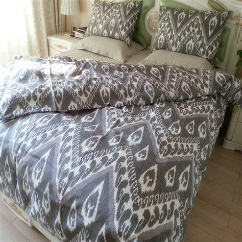 Leopard Printed 100% Pure Linen Bedding Sets Linen Duvet