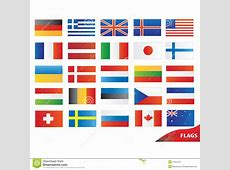 Flags Icons Royalty Free Stock Photography Image 10415197