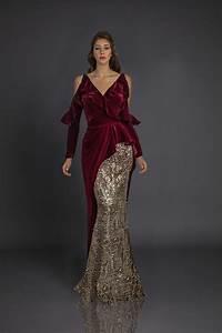 long dress in velvet fleece breast belt With robe longue cache coeur