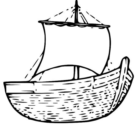 Fishing Boat Clipart Black And White by Boat Clipart Black And White 101 Clip