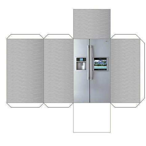 Refrigerator   Dollhouse Kitchen Furnitures   Pinterest