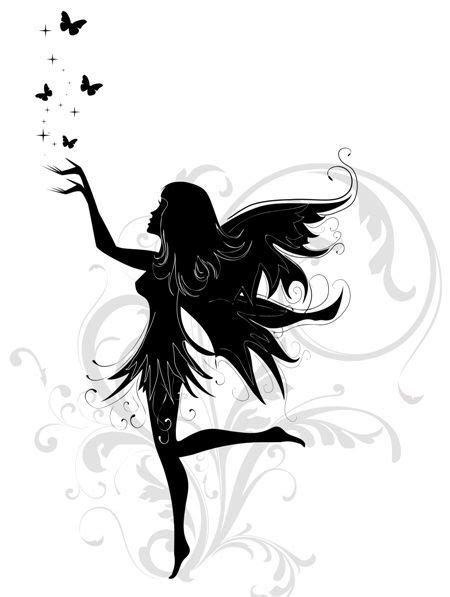Trendy Fairy Tattoos Free Fairy Tattoo Designs & Ideas Fairy Tattoo Design at Girl Lower Back