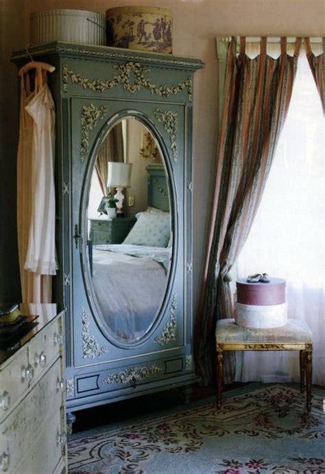 oval mirror wardrobe vintage shabby chic