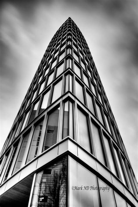 black  white modern architecture photography