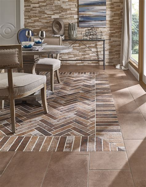brick floor tile style statement porcelain brick tile