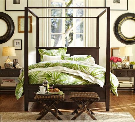 Tropical Bedroom Decor by Eye For Design Decorating Tropical Style