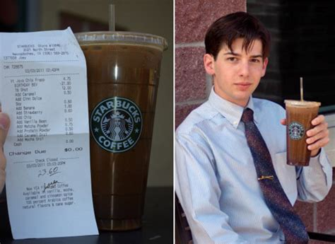 New Record For Most Expensive Starbucks Drink - Geekologie