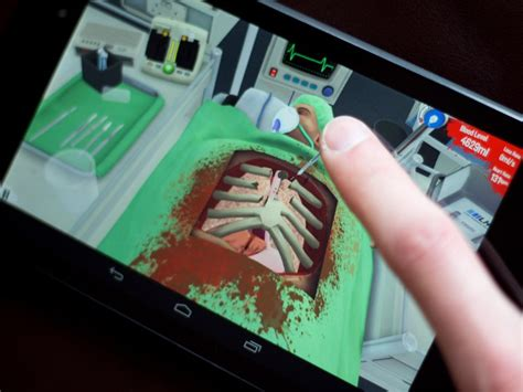 simulator surgeon android games bad game teaches medicine androidcentral