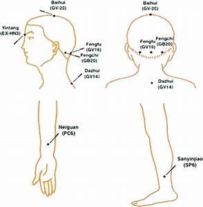 Acupuncture Points Used In Ma And Ea Groups  Ma  Manual