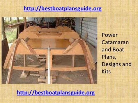 Wood Boat Hull Design by Power Catamaran And Boat Plans Designs And Kits