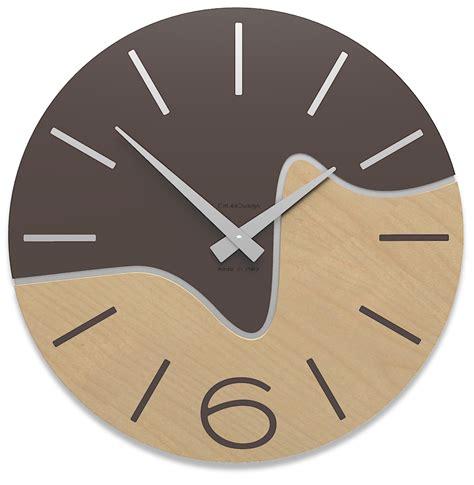 horloge salle de bain design horloge bois design oliver
