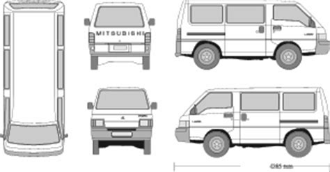 Mitsubishi L300 Backgrounds by Mr Clipart