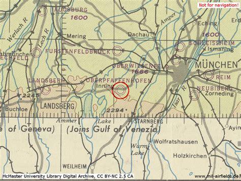 Militärflugplätze Deutschland Karte
