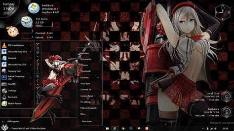 Themed Anime Wallpaper - win 8 1 and 10 alisa illinichina a god eater by bazzh