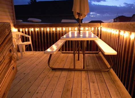 how to hang string lights on fence patio wall lights rock landscaping ideas for front yard