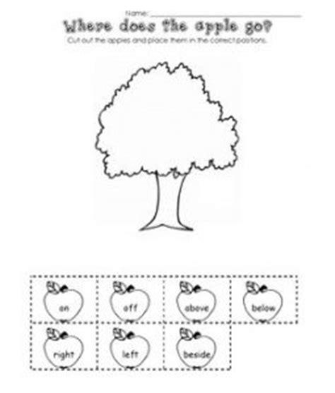 25 ideas about positional words kindergarten on