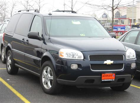 Chevrolet Uplander 2006 by Chevrolet Uplander 2006 Review Amazing Pictures And