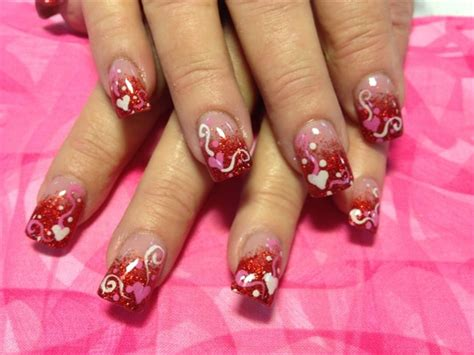 valentines nail designs 40 valentines day nails designs for 2018