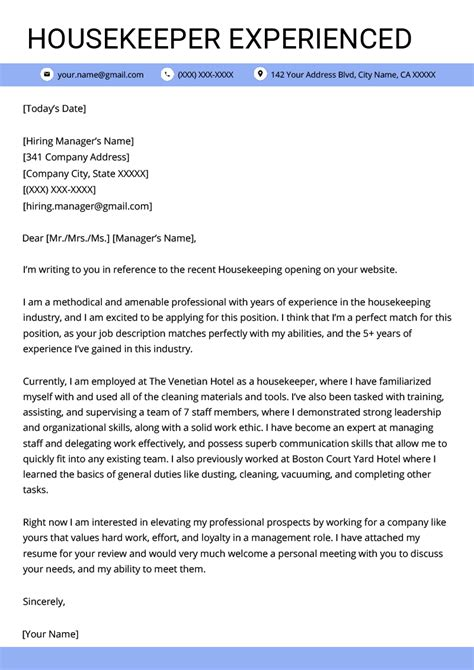 environmental service worker cover letter sample mt