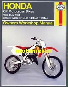 Honda Cr80 Cr125 Cr250 Cr500 Haynes Manual 86