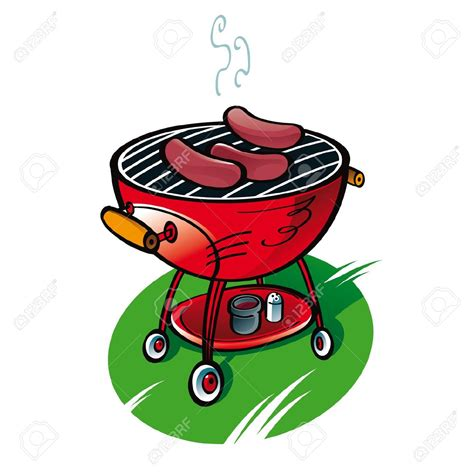 Bbq Clipart Free Barbecue Clipart Vector Pencil And In Color Barbecue