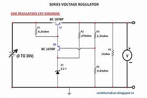 Computer Networks  Series Voltage Regulator Ckt Diagram