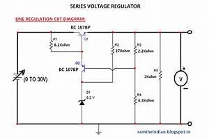Computer Networks  Series Voltage Regulator Ckt Diagram