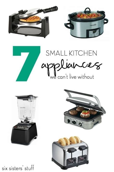 Kitchen Collections Appliances Small by 17 Best Ideas About Small Kitchen Appliances On