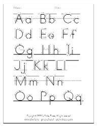 printable preschool worksheets  printable