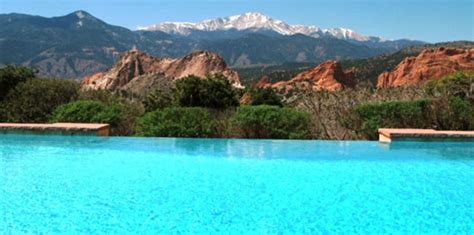review of garden of the gods club lodging in colorado