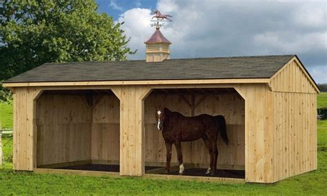 Run In Shed For Horses by 25 Best Ideas About Barns Sheds On Lake House