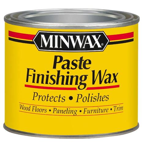 Hardwood Floor Buffing Compound by Minwax 1 Lbs Paste Finishing Wax 785004444 The Home Depot