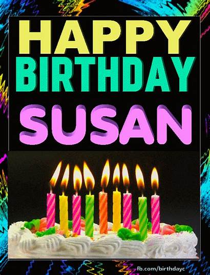 Susan Birthday Happy Sister Mary Greeting Gifts