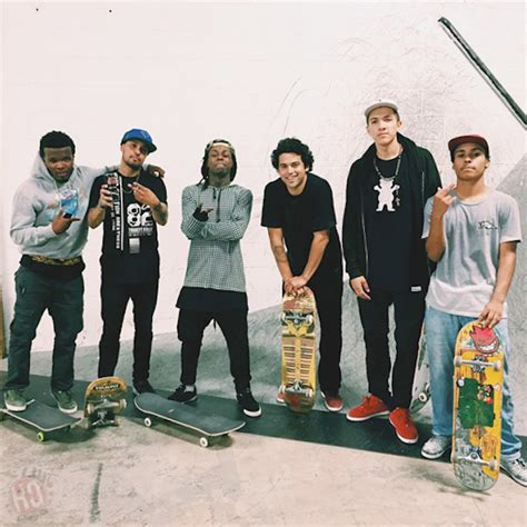 lil wayne skate rodriguez paul skaters skating park hang vice crew skateboarding gnar paid session weezy evan hernandez drink baby