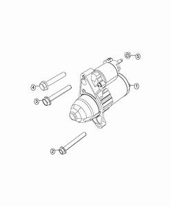 2017 Jeep Compass Starter  Engine   Power Train Parts