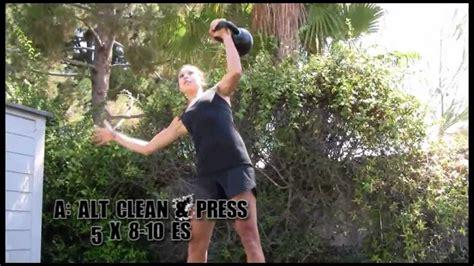 kettlebell lauren brooks workout