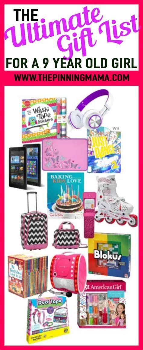 ultimate gift list    year  girl  pinning