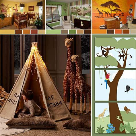Kinderzimmer Deko Urwald by Dschungel Kindertapete Kinderzimmer Gestalten
