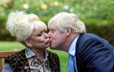 Dame Barbara Windsor asks Boris Johnson: Can I have a kiss ...