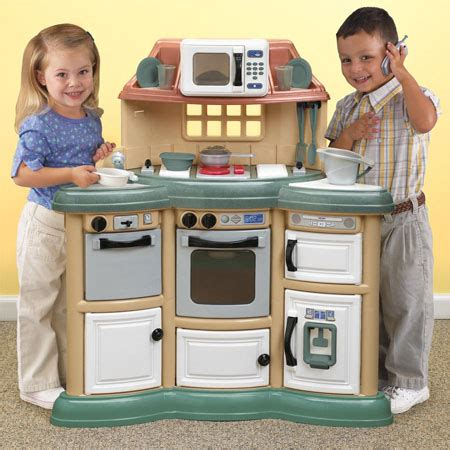 homestyle play kitchen  real cooking experience