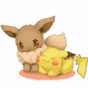 Pikachu And Eevee Cute | www.pixshark.com - Images ...