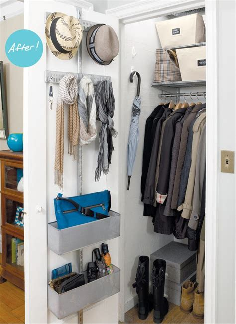 Front Entry Closet Organization Ideas by Closet Organizers A Mini Master Entry Closet Are