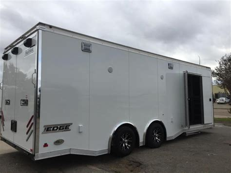 Haulmark Edge Car Racing Trailer Loaded Enclosed