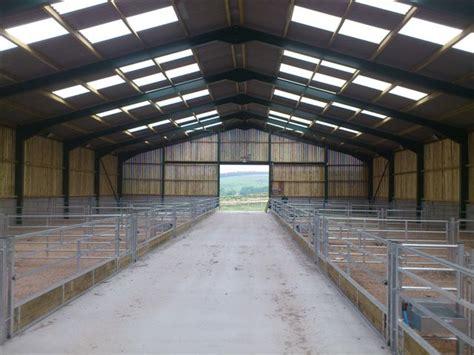 sheep sheds housing buildings erected kit