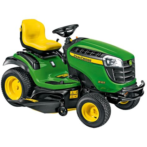 deere x165 lawn tractor with 48 quot edge deck