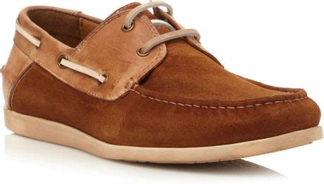 Madden Graham Boat Shoes by Steve Madden Qnsboro Lace Up Combo Boat Shoes In Brown For