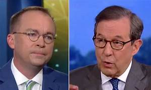 Chris Wallace Burns WH Chief Of Staff Mick Mulvaney For ...