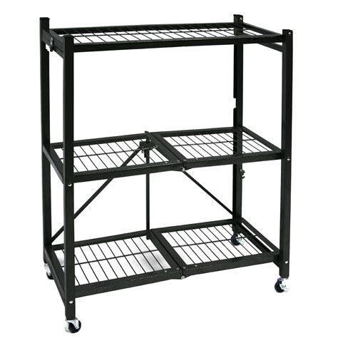 Small Bookcase On Wheels by Origami General Purpose Steel Storage Rack With Wheels 3