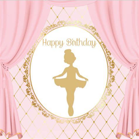 8x8ft pink curtain gold crown birthday ballerina ballet custom photography studio