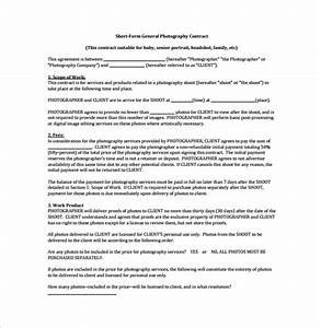 12 sample amazing photography contract templates sample With wedding photography contract pdf